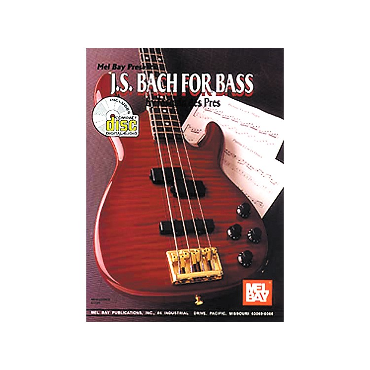 Mel Bay JS Bach for Bass Book