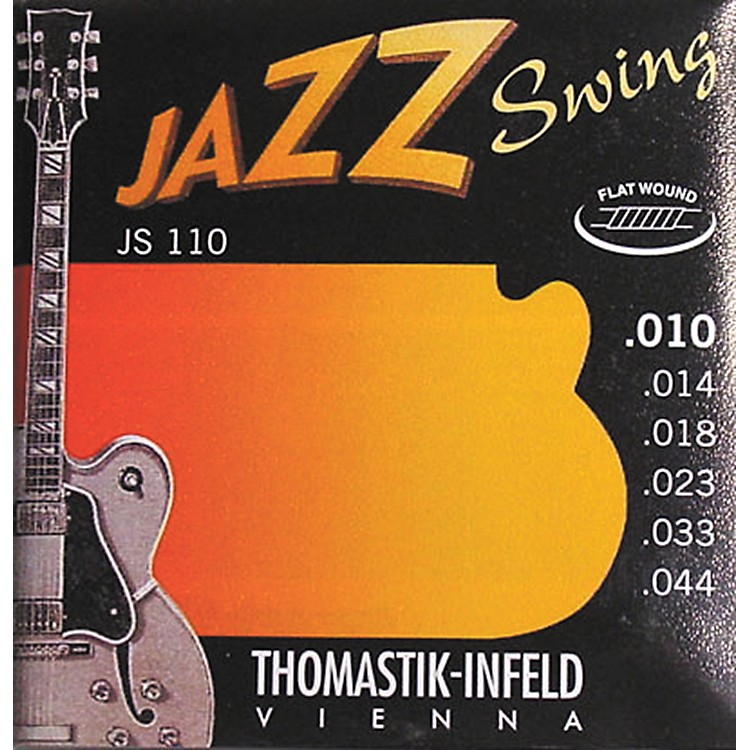 ThomastikJS110 Flatwound Extra Light Jazz Swing Guitar Strings