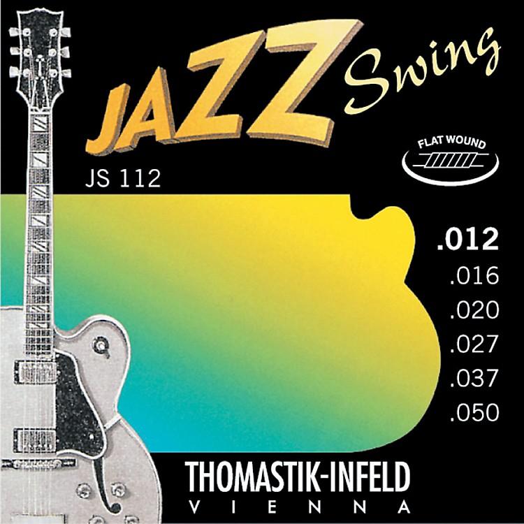 ThomastikJS112 Medium Light Flatwound Jazz Swing Electric Guitar Strings