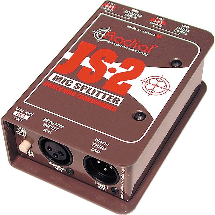 Radial EngineeringJS2 Passive Microphone Splitter Direct Box