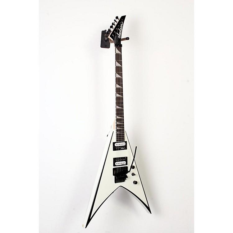 JacksonJS32 King V Electric GuitarWhite with Black Bevel888365894355