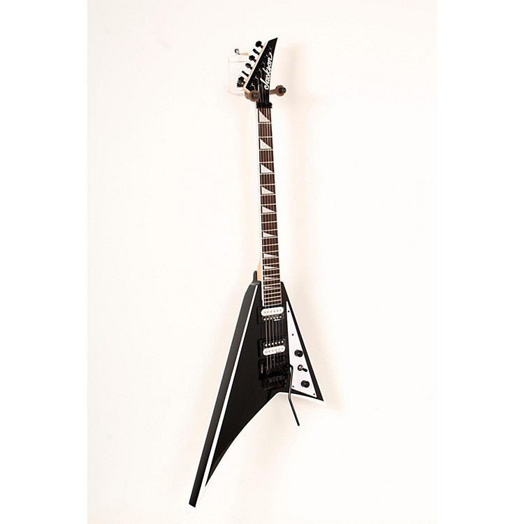 JacksonJS32 Rhoads Electric GuitarBlack with White Bevel888365797007