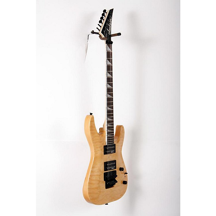 Jackson JS32Q Dinky DKA, QM Electric Guitar Natural Blonde 888365854168