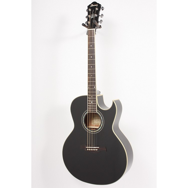 Ibanez JSA5 Satriani Signature Solid-Top Acoustic Guitar Black 886830638640