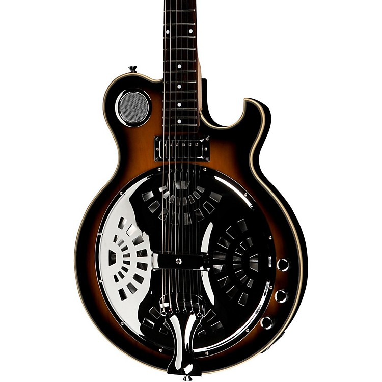 Jay Turser JT-Res Electric Resonator Guitar Antique Natural Sunburst