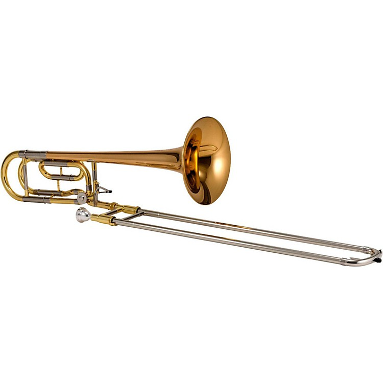 JupiterJTB1150F Performance Series F-Attachment TromboneLacquerRose Brass Bell