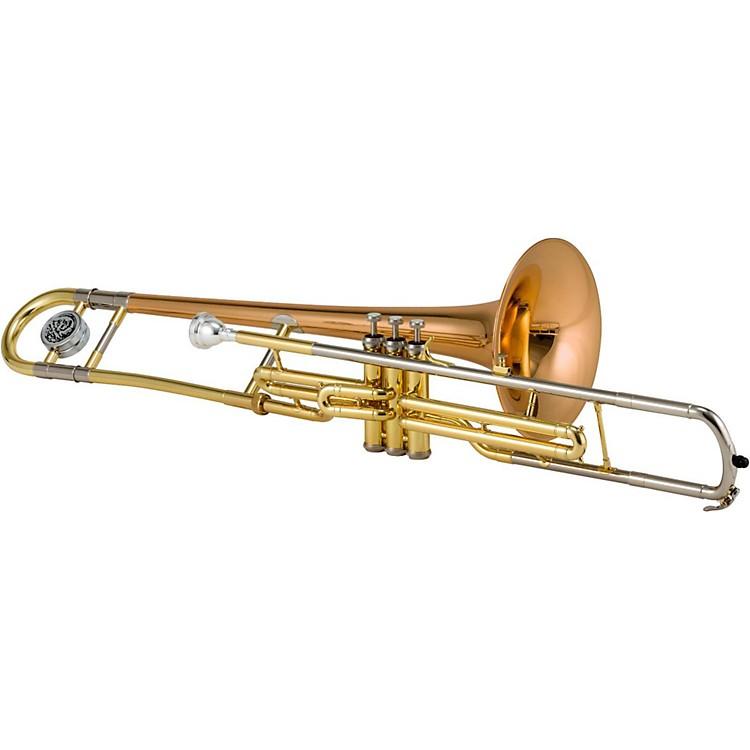 JupiterJTB720V Series C Valve TromboneLacquerRose Brass Bell
