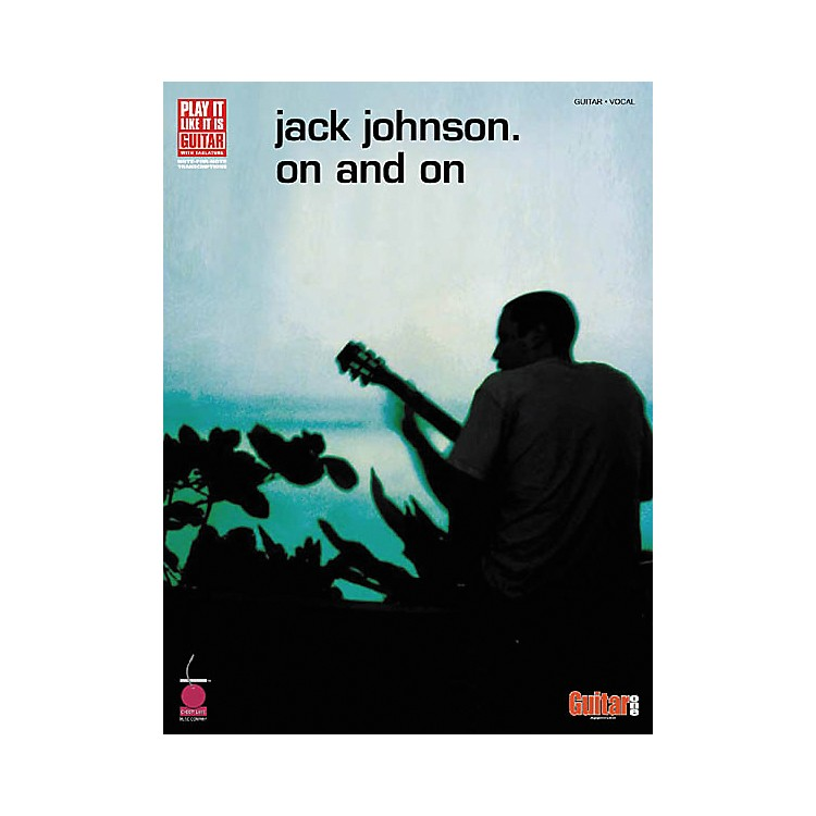 Cherry Lane Jack Johnson On and On Guitar Tab Songbook