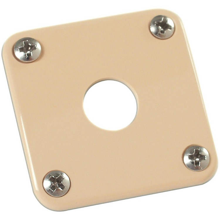 Gibson Jack Plate with Screws Cream