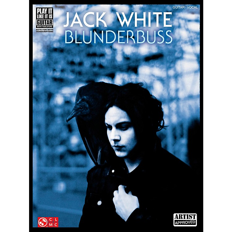 Cherry Lane Jack White - Blunderbuss Guitar Tab Songbook