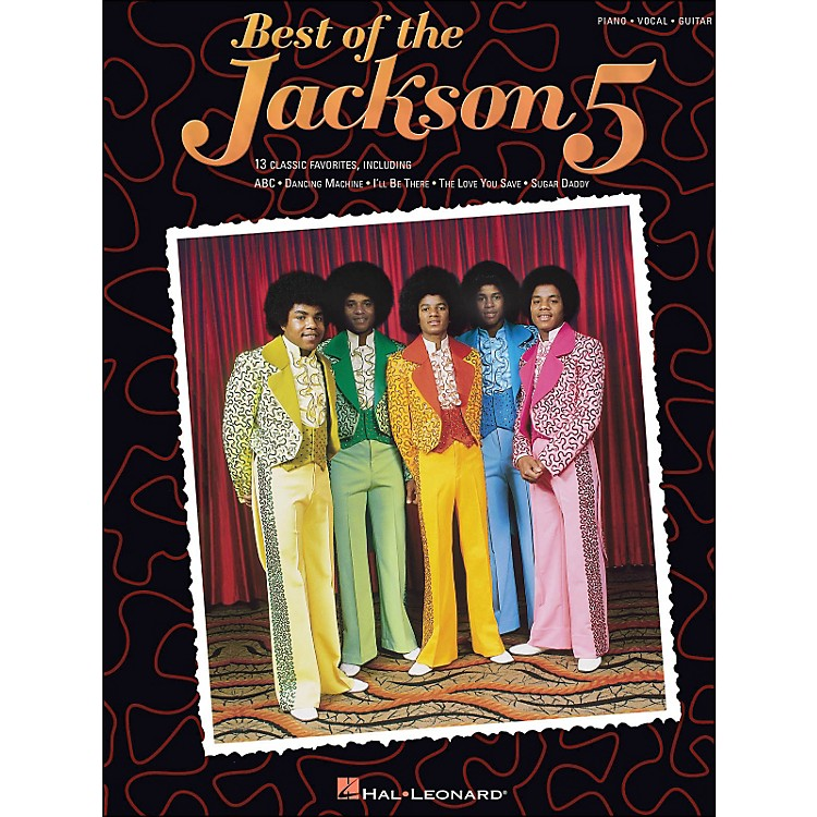 Hal Leonard Jackson 5, Best Of arranged for piano, vocal, and guitar (P/V/G)