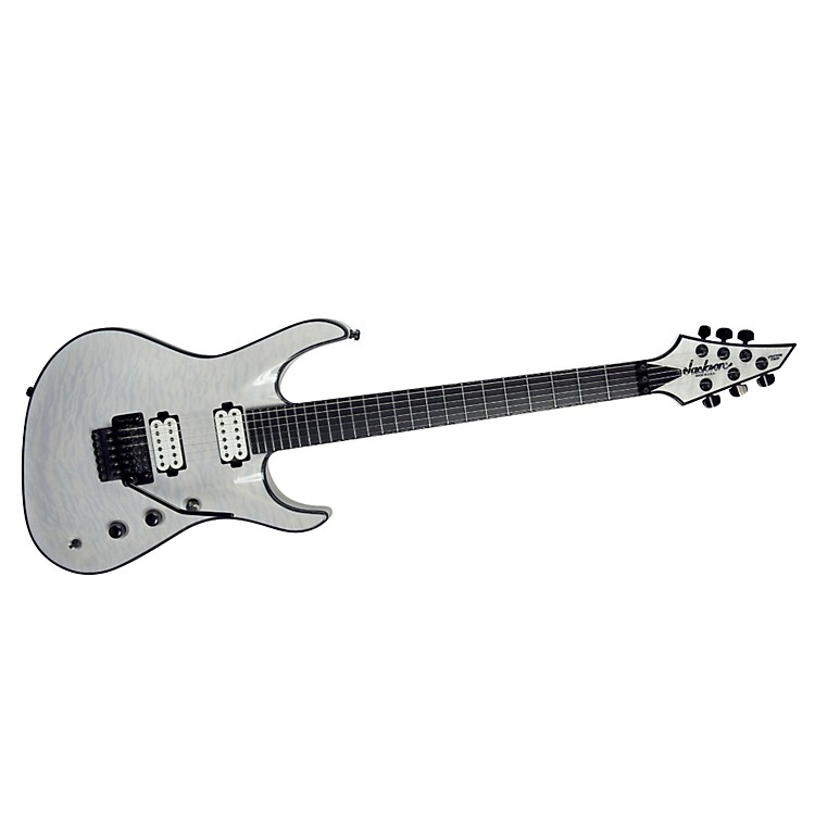 Jackson Jackson Chris Broderick Soloist electric guitar Trans White Ebony Fingerboard