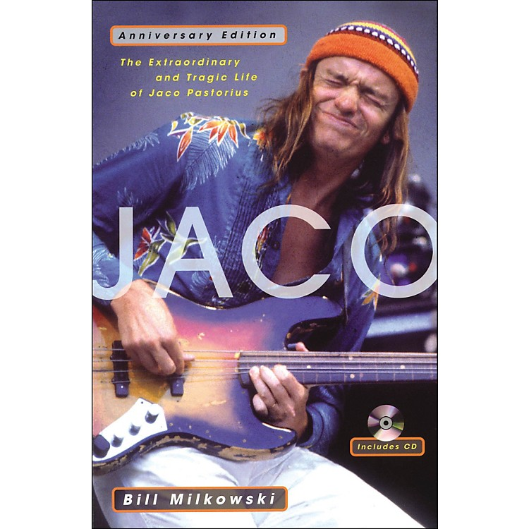 Backbeat BooksJaco - The Extraordinary And Tragic Life Of Jaco Pastorious Anniversary Edition Book/CD