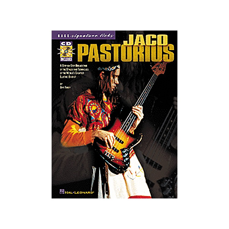 Hal LeonardJaco Pastorius Bass Signature Licks Book with CD