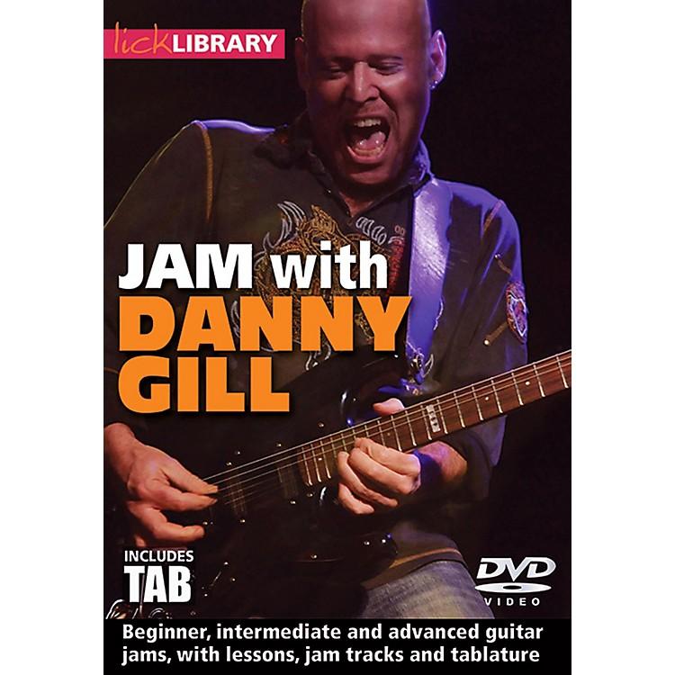 Hal LeonardJam With Danny Gill - Lick Library DVD