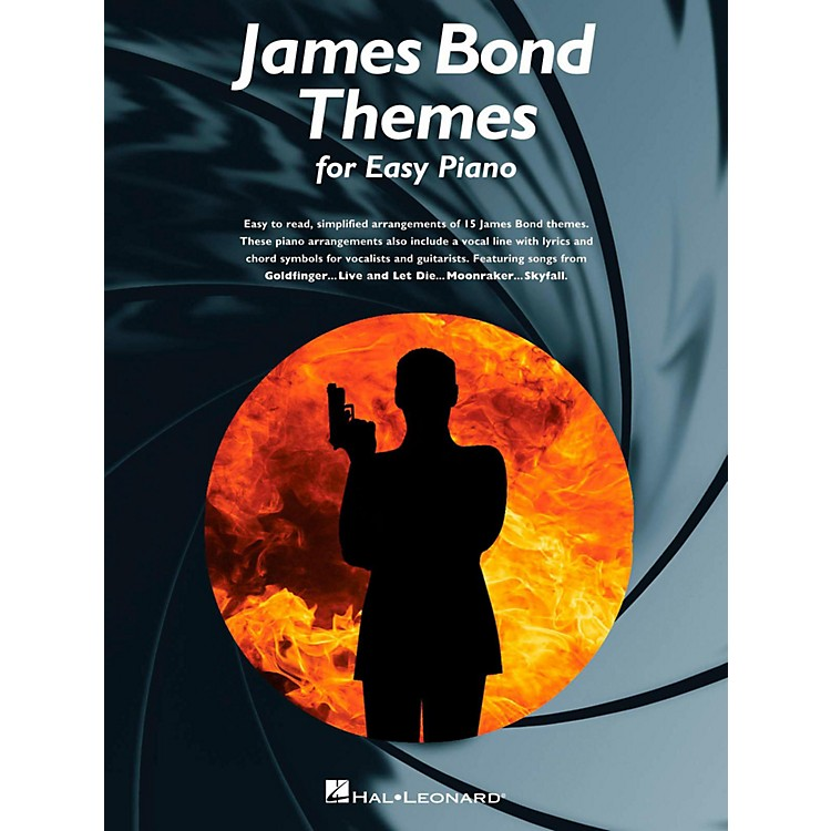 Music SalesJames Bond Themes For Easy Piano
