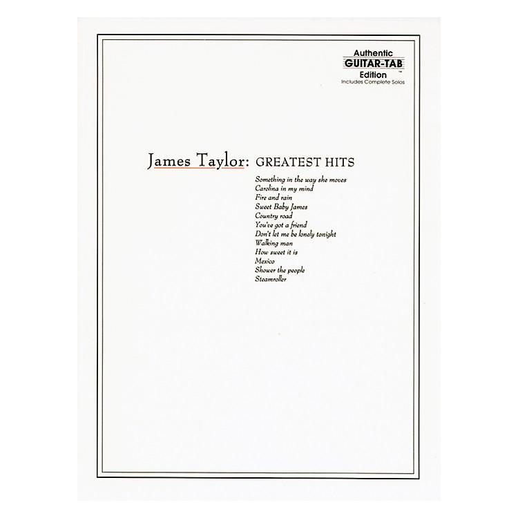 AlfredJames Taylor Greatest Hits Guitar Tab Book