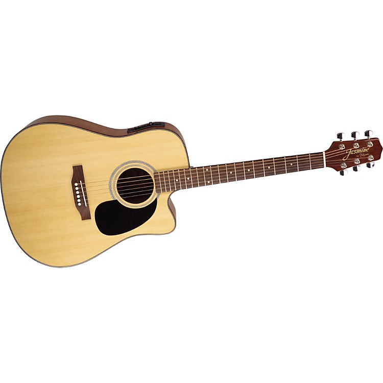 Jasmine Jasmine Series ES33C Dreadnought Acoustic-Electric Guitar