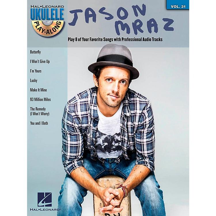 Hal LeonardJason Mraz - Ukulele Play-Along Vol. 31 Book/CD