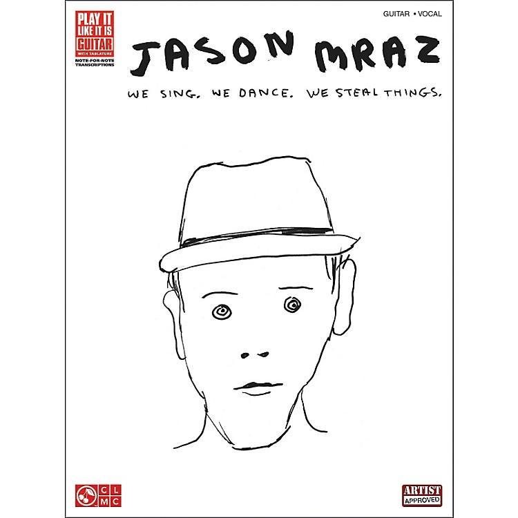 Cherry LaneJason Mraz - We Sing, We Dance, We Steal Things (Guitar Tab Songbook)