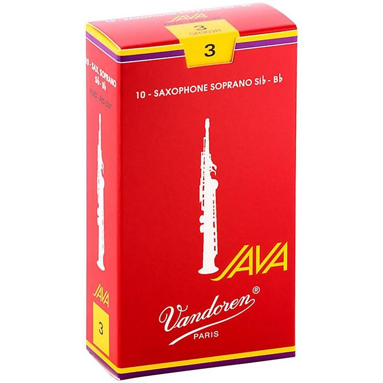 VandorenJava Red Soprano Saxophone Reeds