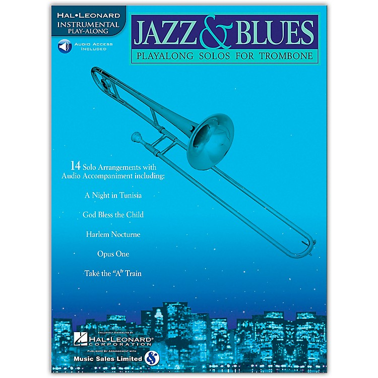 Hal LeonardJazz And Blues Playalong Solos for Trombone Book/CD