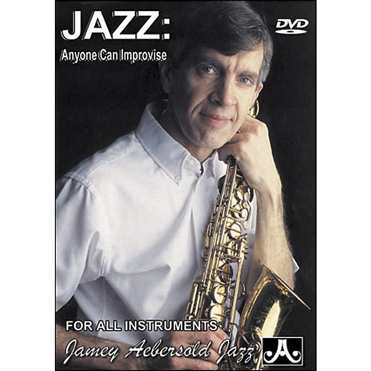 Jamey AebersoldJazz: Anyone Can Improvise DVD
