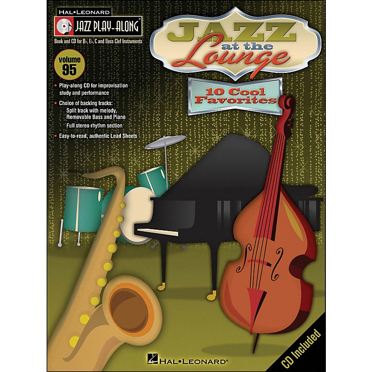 Hal Leonard Jazz At The Lounge - Jazz Play-Along Volume 95 (CD/Pkg)