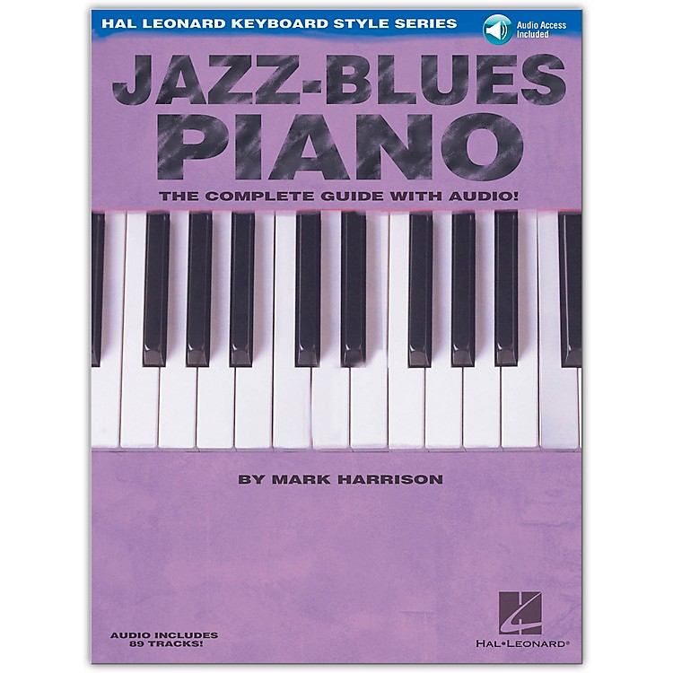 Hal LeonardJazz-Blues Piano Book/CD The Complete Guide with CD