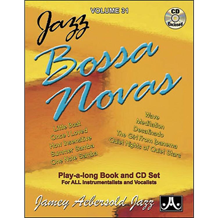 Jamey AebersoldJazz Bossa Nova Play-Along Book with CD