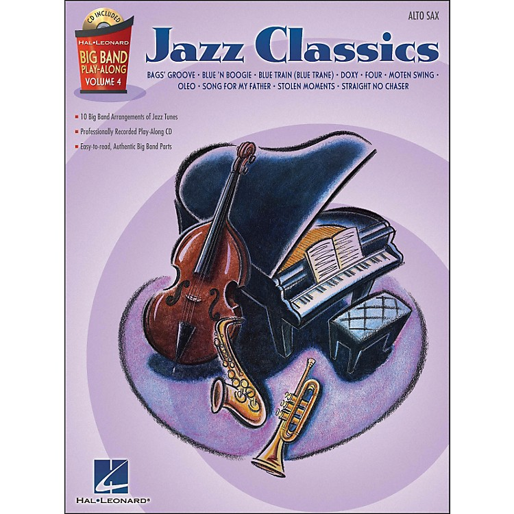 Hal Leonard Jazz Classics - Big Band Play-Along Vol. 4 Alto Sax