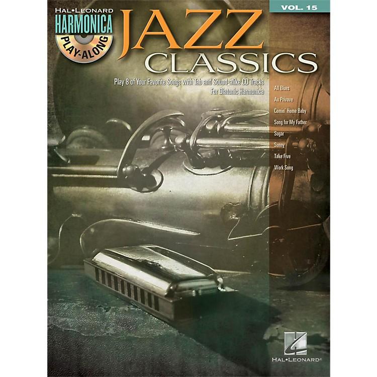 Hal LeonardJazz Classics - Harmonica Play-Along Volume 15 Book/CD (Diatonic Harmonica)