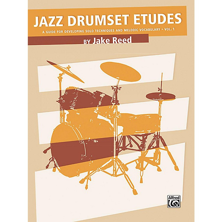AlfredJazz Drumset Etudes Developing Solo Techniques and Melodic Vocabulary Vol. 1 Book