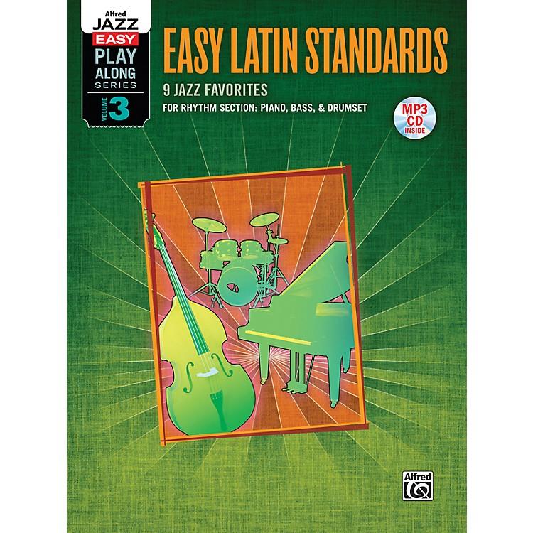 AlfredJazz Easy Play Along Series, Vol. 3: Easy Latin Standards Book & CD