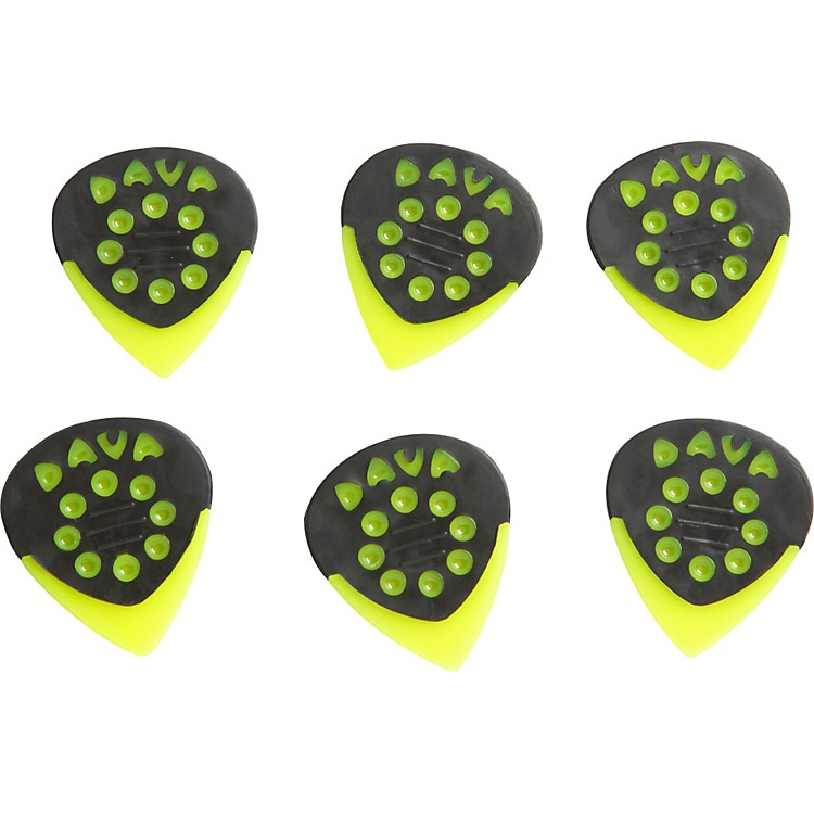 Dava Jazz Grip Nylon Small 6-Pack Light Green