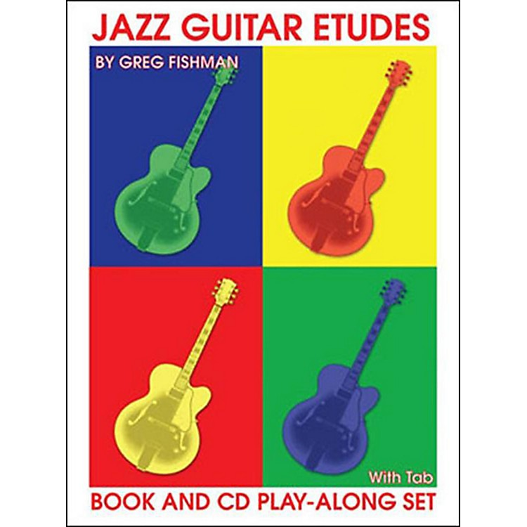 Jamey Aebersold Jazz Guitar Etudes Book and CDs
