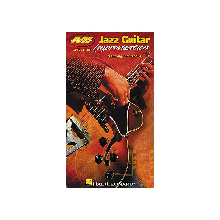 Musicians Institute Jazz Guitar Improvisations (VHS)