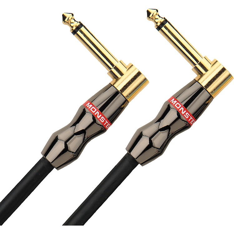 Monster Legacy Jazz Instrument Cable Angled-Angled 8