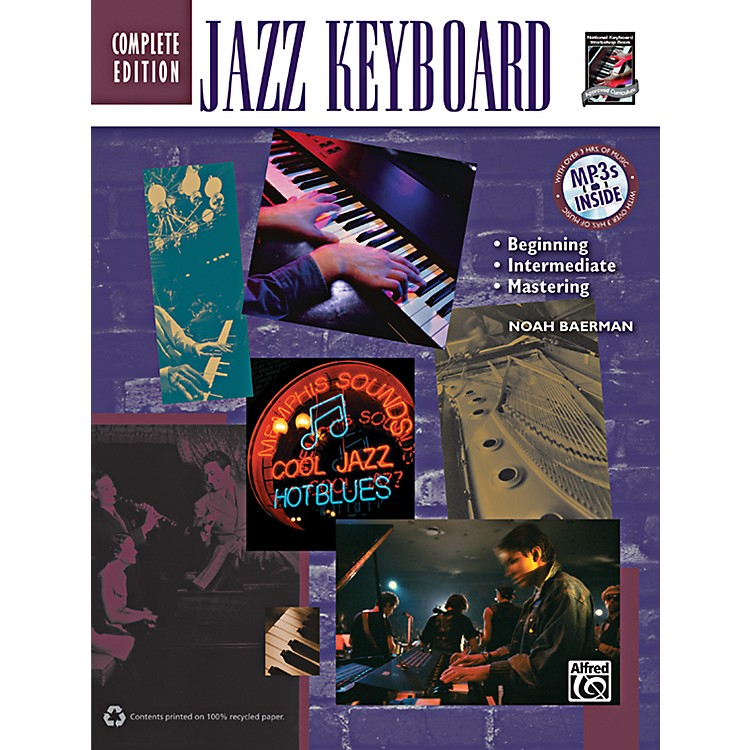 AlfredJazz Keyboard Method Complete Book & CD
