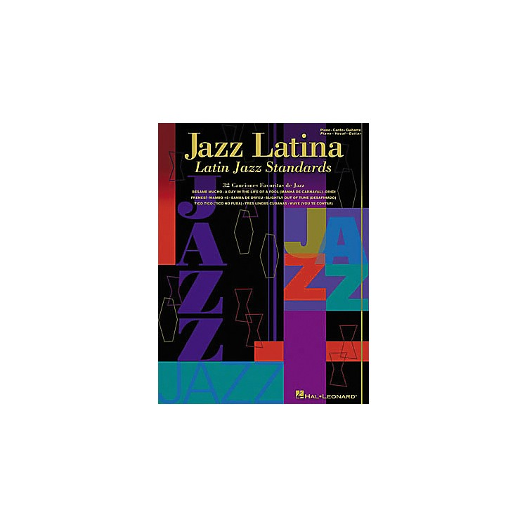 Hal Leonard Jazz Latina Piano, Vocal, Guitar Songbook