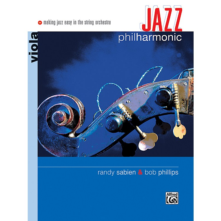 Alfred Jazz Philharmonic Viola Book