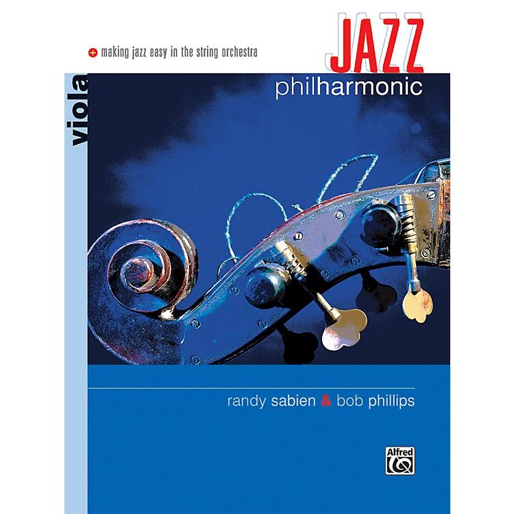 AlfredJazz Philharmonic Viola Book