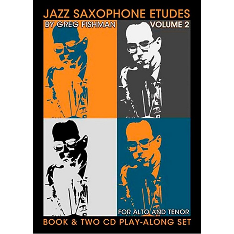 Jamey AebersoldJazz Phrasing For Saxophone Vol.2Book and CDs