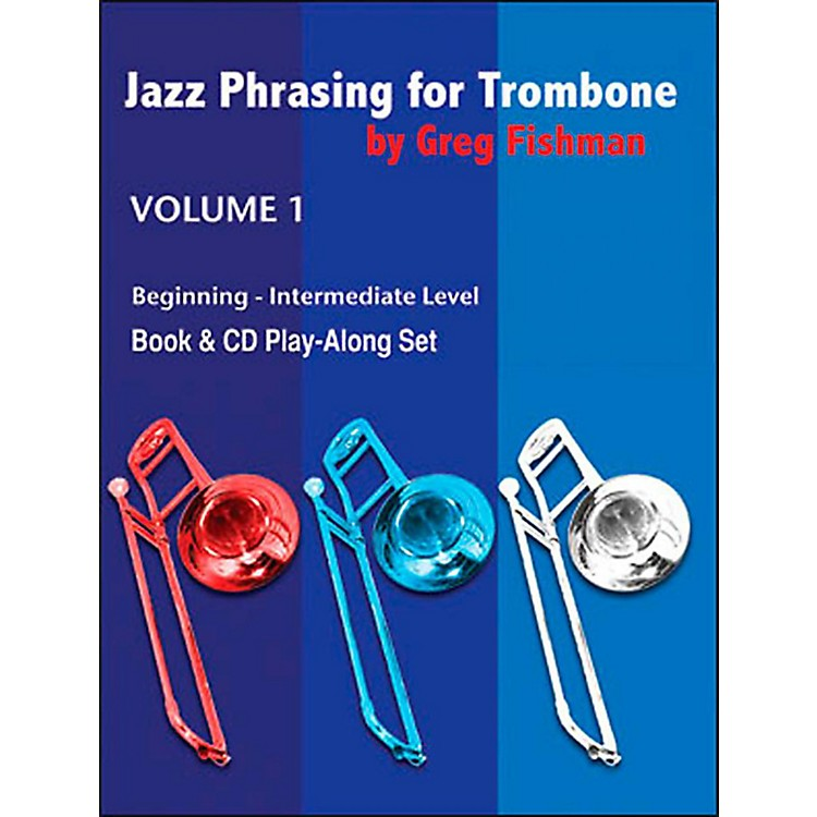 Jamey Aebersold Jazz Phrasing For Tombone Book and CDs