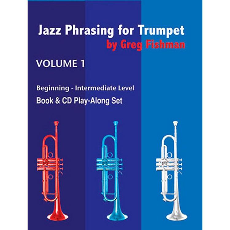 Jamey AebersoldJazz Phrasing For TrumpetBook and CDs