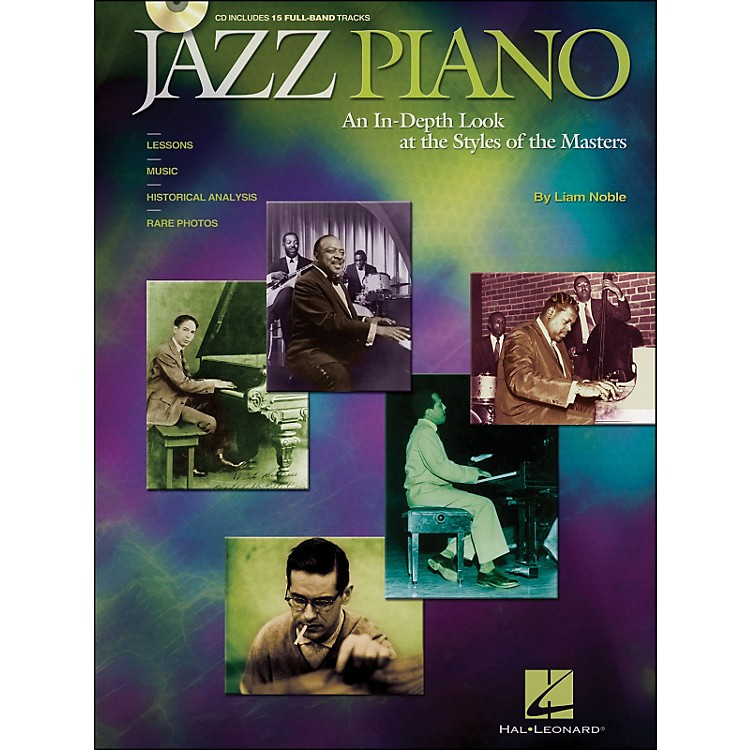Hal Leonard Jazz Piano Book/CD An In-Depth Look At The Styles Of The Masters