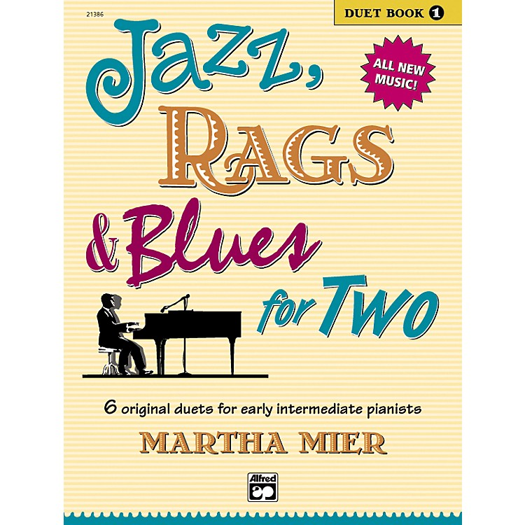 AlfredJazz Rags & Blues for Two Book 1