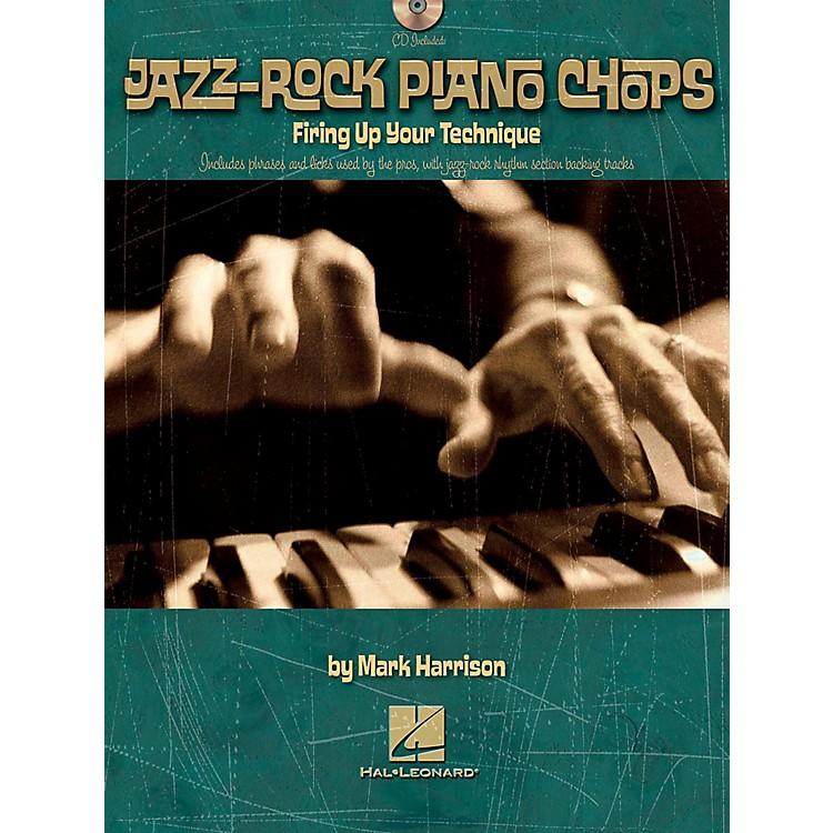 Hal LeonardJazz-Rock Piano Chops - Firing Up Your Technique Book/CD