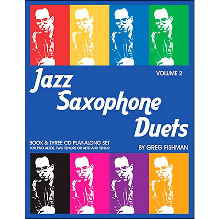 Jamey AebersoldJazz Saxophone Duets Vol. 2Book and CDs