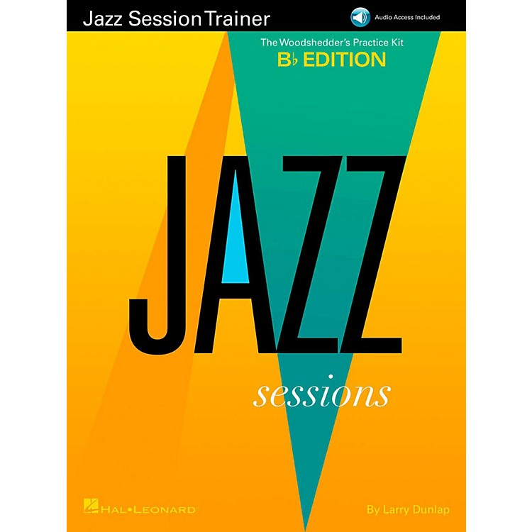 Hal LeonardJazz Session Trainer - The Woodshedder's Practice Kit  B-Flat Edition (Book/Online Audio)